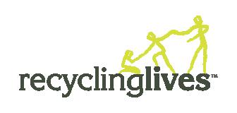 Recycling Lives Colour Logo