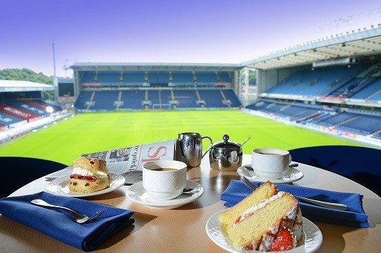 Northcote Coffee Cake And Scones Over Looking Football Pitch